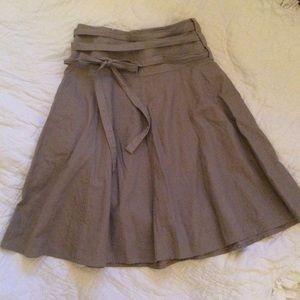 |H&M| Skirt with adjustable ties